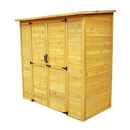 Outdoor Storage Cabinet - Wood Sheds