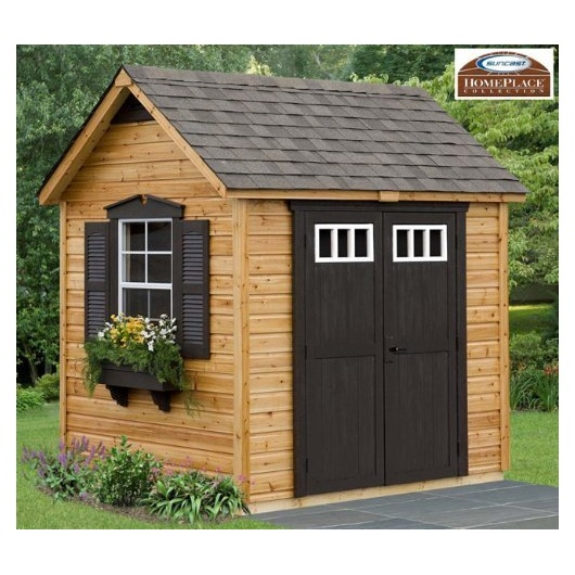 Garden Sheds 8x6 legacy wood garden shed - outdoor storage 911