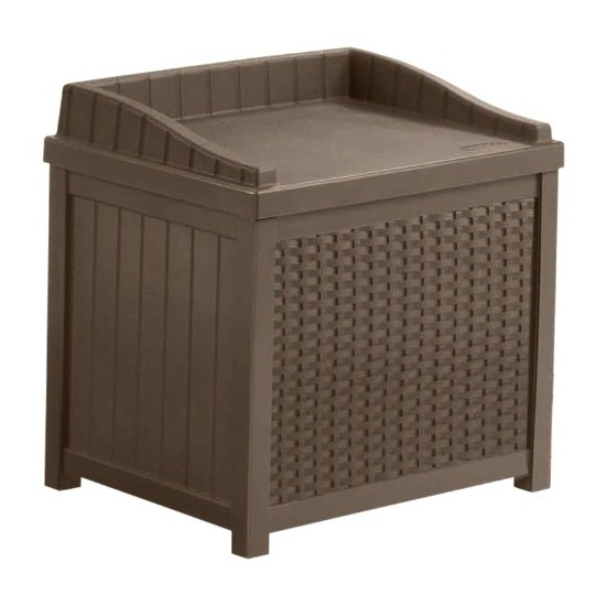 SSW1200 Mocha Resin Suncast Wicker
